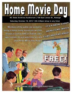 Home Movie Day 2013 Poster