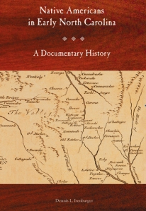 Cover of Native Americans in Early North Carolina: A Documentary History - now available from the Historical Publications Section