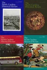 North Carolina Historical Review Covers