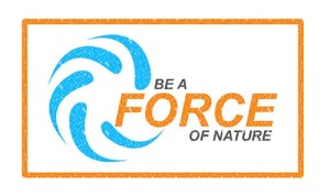 """""""Be a force of Nature"""" logo for National Severe Weather Preparedness Week, 2014"""