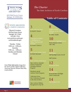 The Spring 2014 issue of The Charter is now available online.