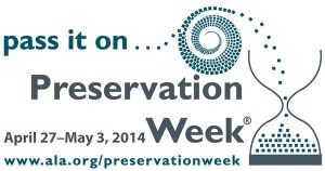 Logo for Preservation Week