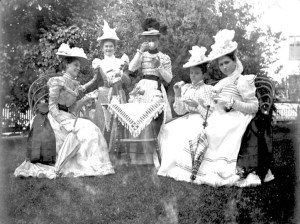 Bridal Party for Lillian M. Fowler, ca. 1890s