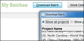 FamilySearch Download screenshot
