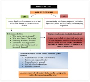 Initial Response Flow Chart - click on the image to see a larger version.
