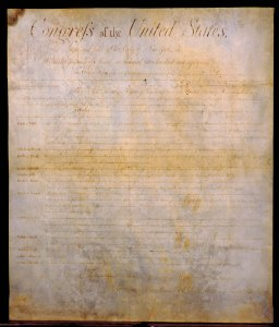 North Carolina's copy of the Bill of Rights, 1789