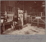 Transatlantic radio power house and sending station at Machrihanish, Scotland, 1906. (call no. PC.1140.13)