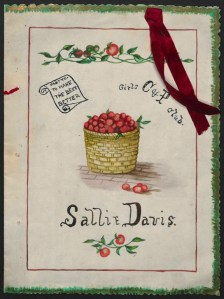 Tomato club booklet, ca 1913. Jane S. McKimmon Papers, Private Collections