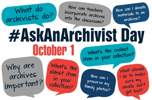 AskAnArchivist Day logo, 2015