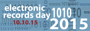 Electronic Records Day 2015 logo