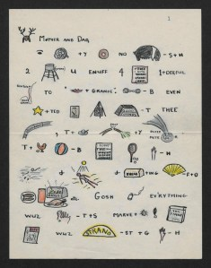 Lorna Blaine Letter, 1942, Black Mountain College Project Papers, Western Regional Archives