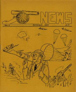 Cannon News newsletter cover (Vol. 2, No. 9), Date: September 1944