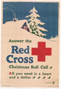 World War I poster: 10,000,000 New Members By Christmas: Join the Red Cross