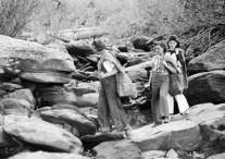 Women Picking Galax (Banner Elk, N.C.)