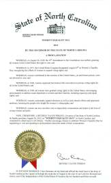 Perdue_Proclamation_20120826