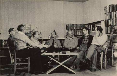 Faculty_meeting_Black_Mountain_College