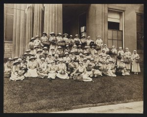Rowan County Red Cross Nurses, 1918