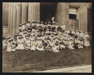 Rowan County Red Cross Nurses, 1918