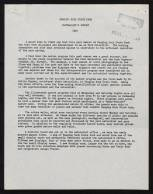 N.C. Division of Parks and Recreation Records, Admin. Section, Director and Deputy's State Parks and Lakes File, Hanging Rock Naturalists' Reports, 1958-1968