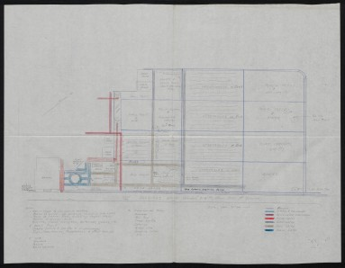N.C. Division of Parks and Recreation Records, Admin. Section, Director and Deputy's State Parks and Lakes File, Pettigrew, Collins House Lawn Construction