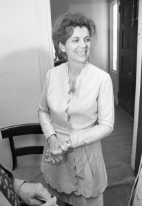 Photo of Carolista Baum from the files of the News & Observer, Raleigh, NC