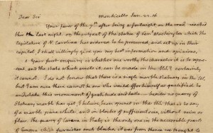 Thomas Jefferson, Monticello, January 22, 1816, to Nathaniel Macon