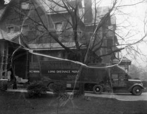Carolina Transfer and Storage Company Moving Van, 1936