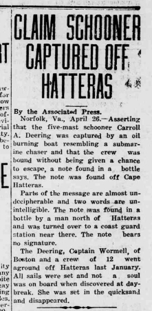 Hickory Daily Record - April 26, 1921