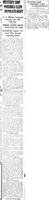 The Washington Herald - June 22, 1921