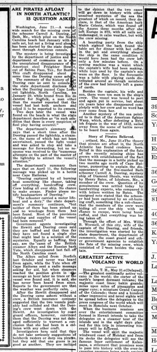 The Union Times - June 23, 1921