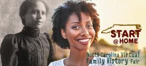 Start @ Home: North Carolina Virtual Family History Fair