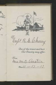 PC_1138_Cherry_R_Gregg_Papers_Wartime_Diary_1918_09