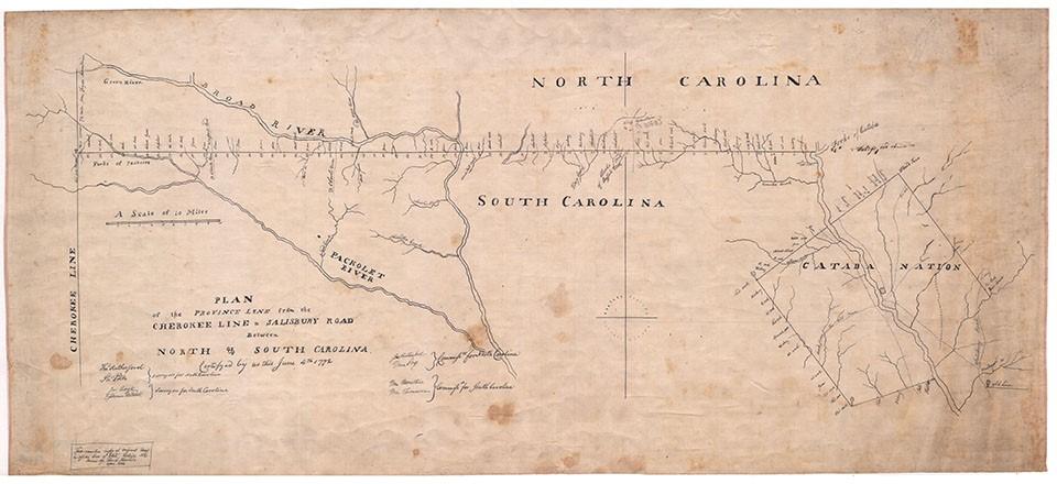 Fraser Ridge Nc Map.Documenting The World Of Outlander 4 Cherokee Land Boundaries